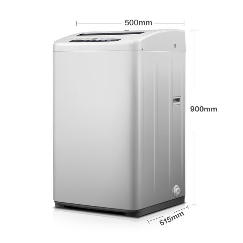 三洋5.5公斤全自动家用波轮洗衣机xqb55-851z